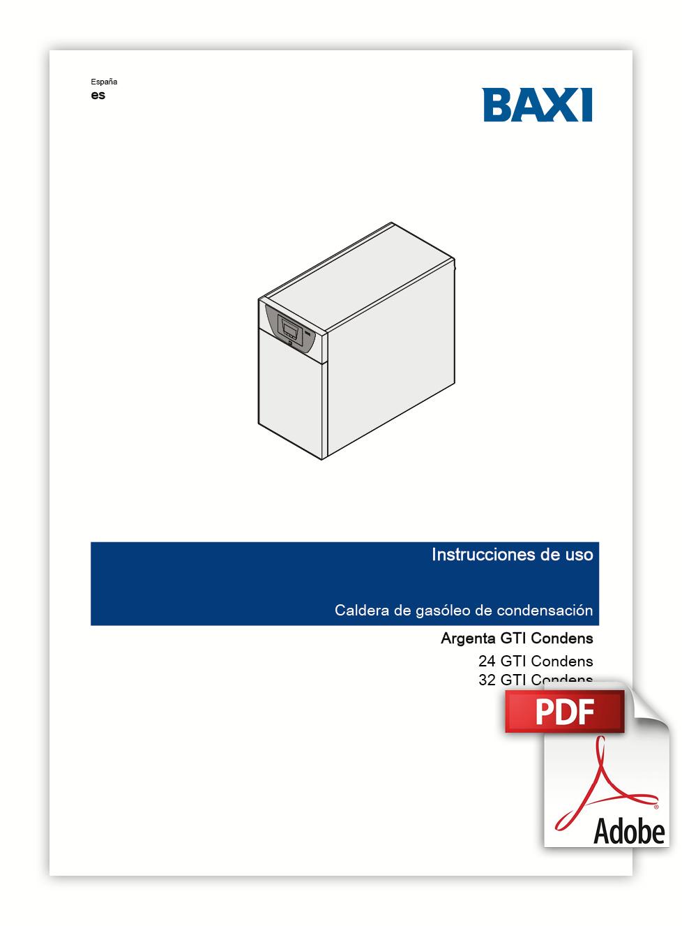 Manual Usuario ARGENTA GTI Condens