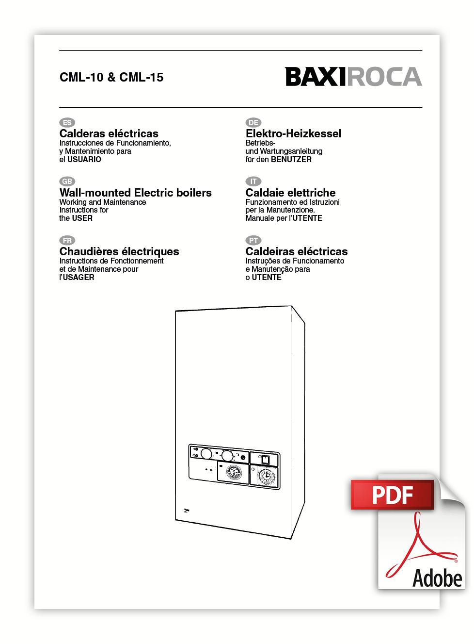 Manual Usuario CML 10 CML 15
