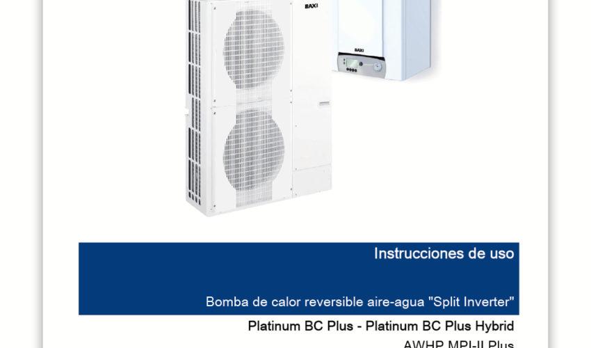 Manual Usuario Platinum BC Plus y BC Plus Hybrid