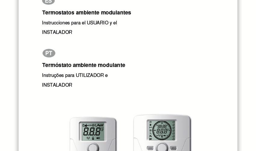 Manual Usuario TCD 10C RCD 10C TCX 10C RCX 10C
