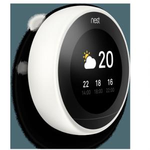termostato inteligente nest blanco