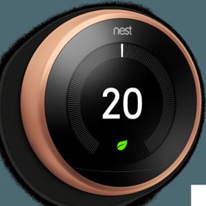 termostato inteligente nest bronce