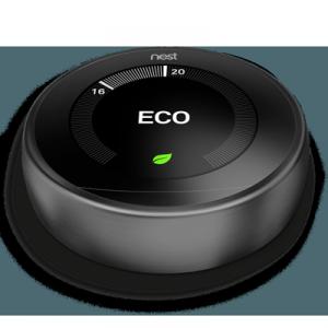termostato inteligente nest negro
